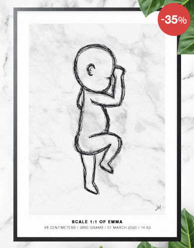 Birthposter Inspiration